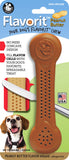 Flavorit Bone Peanut Butter Flavor Infused Dog Chew Toy, Made in USA