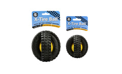 Animal Sounds X-Tire Ball - Pet Qwerks | Interactive Dog Toys
