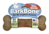 Bacon BarkBone Dog Chew Toy, Made in USA