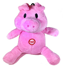 Pet Qwerks Oinking Pig with Electronic Sound Animal Stuffed Plush Dog Toy - Pet Qwerks | Interactive Dog Toys