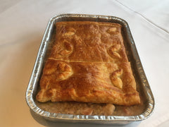 Tray bake: Chicken, barley and leek pie