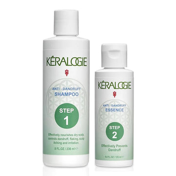 Keralogie Anti-Dandruff Shampoo & Revitalizing Essence Kit - (8 fl oz / 8 fl oz)