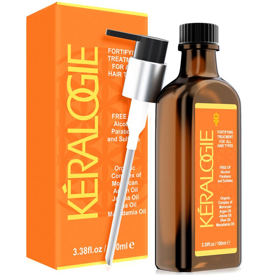 Keralogie Hair Oil Complex for All Hair Types - (3.38 fl oz)