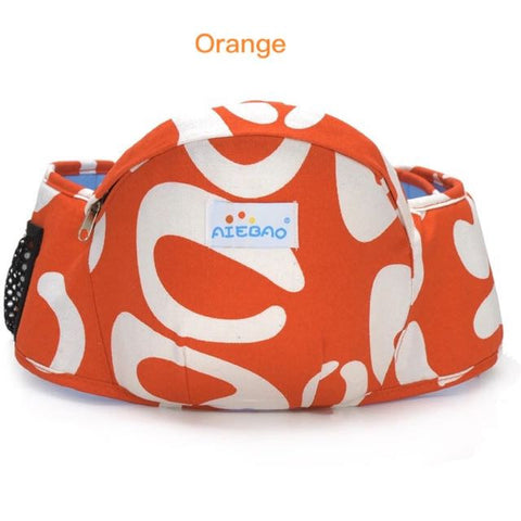 PROMOTION! Baby Hip Seat, Easy to Carry for baby 5 months and above (Orange only)