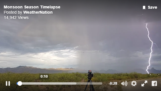 Lightning Slow Motion and Time-lapses Featured on Weather Nation