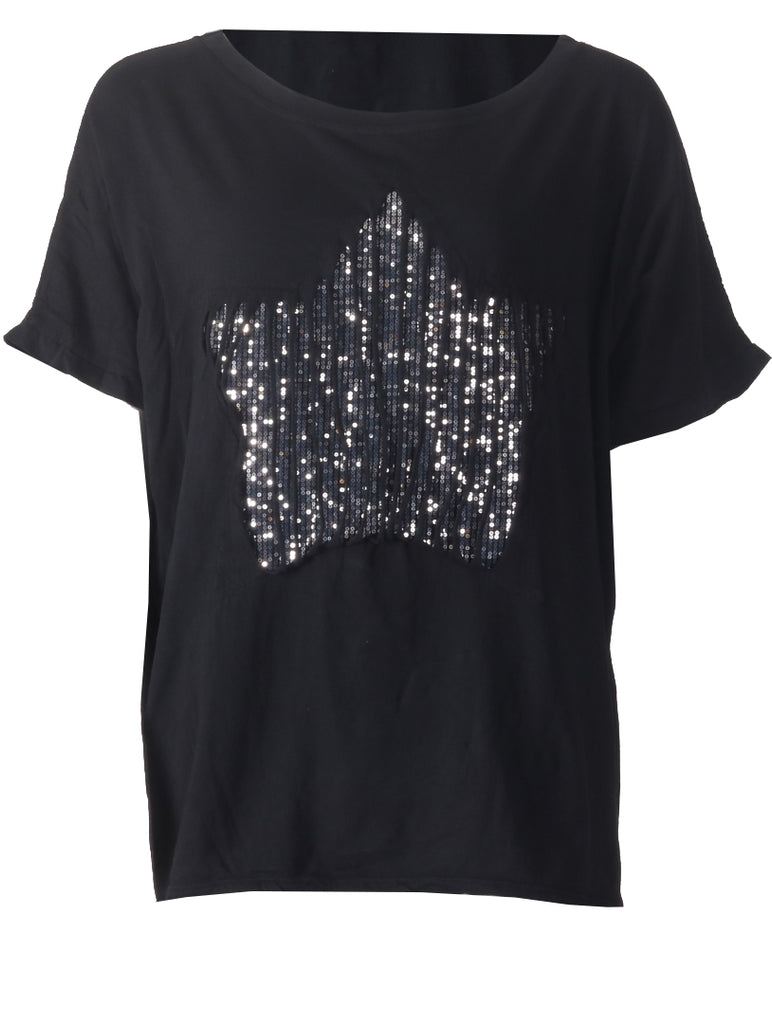 Star T-shirt - Black