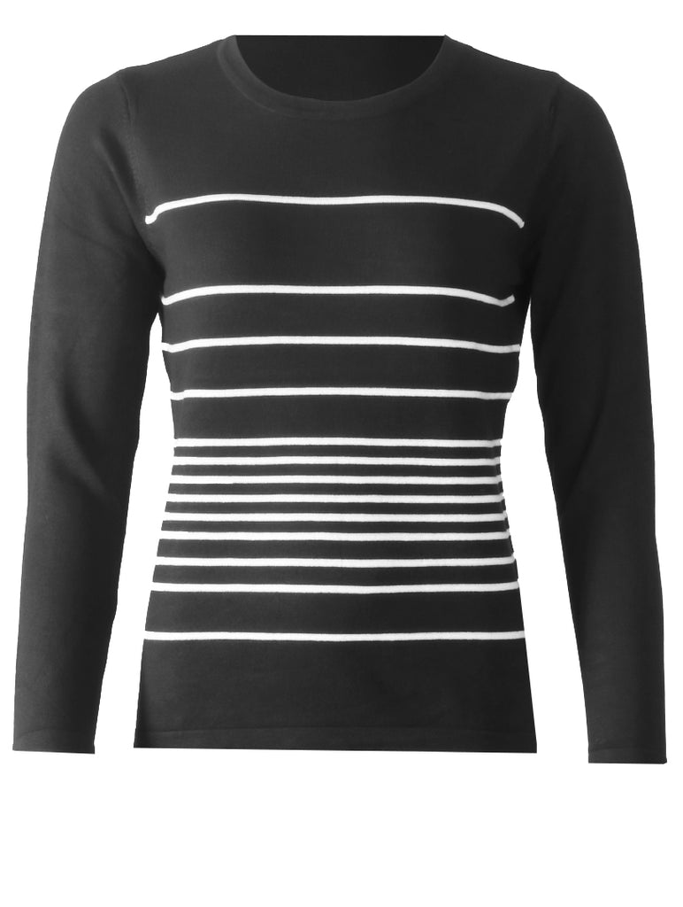 Knitwear - Black/White