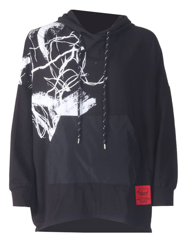 Paint Hoody - Black
