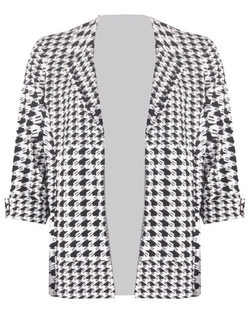 Edge to Edge Jacket - Black/Ivory