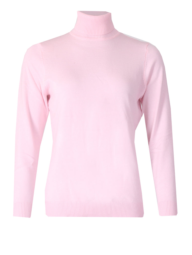 Polo neck - Soft Pink