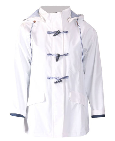 Waterproof Jacket - White