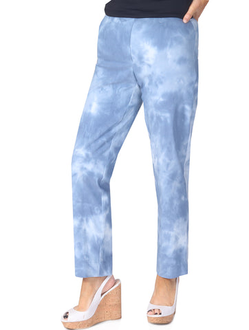 "27"" Dip Dyed Trousers - Blue"