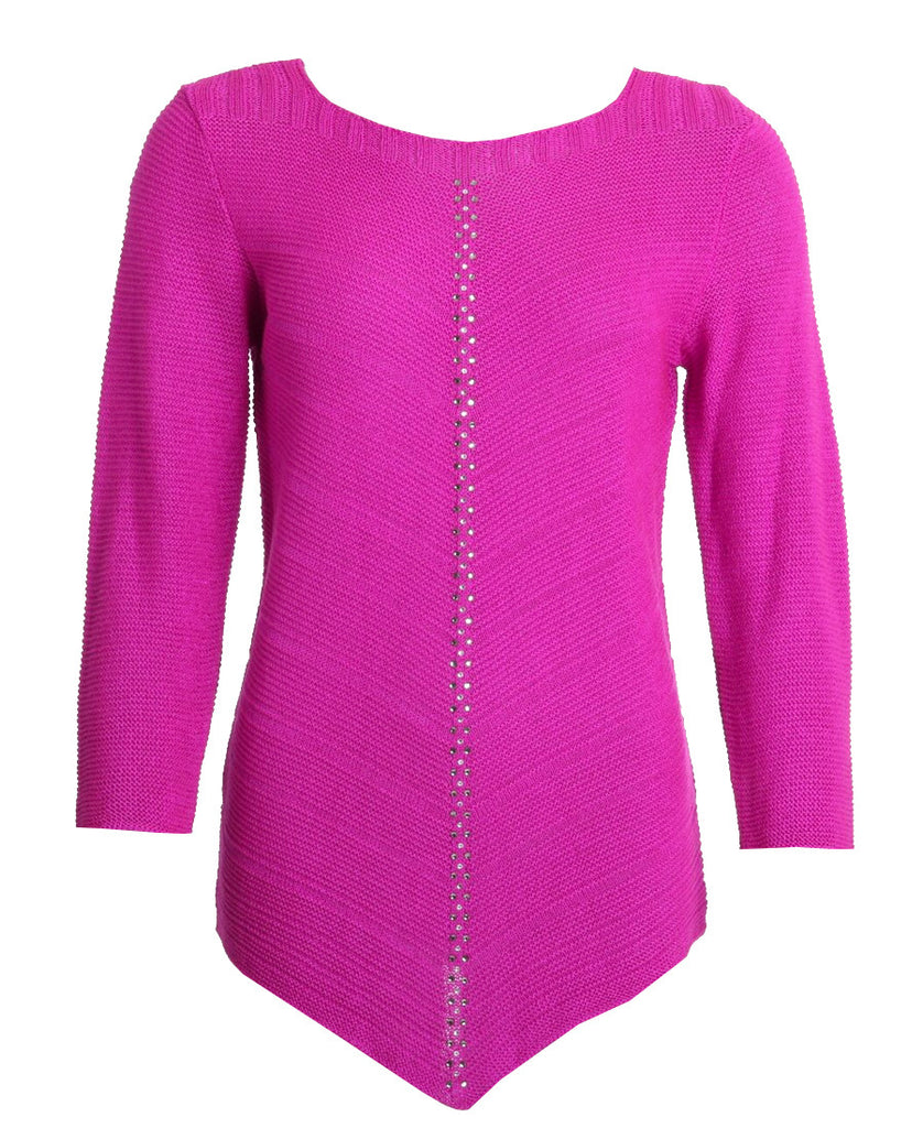 Diamond Jumper - Fuschia