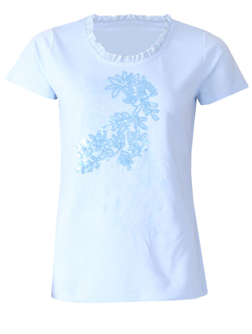 Detailed Top - Blue Bell
