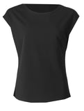 Round Neck Top - Black