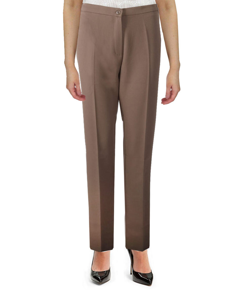Taupe Side Elasticated Trousers