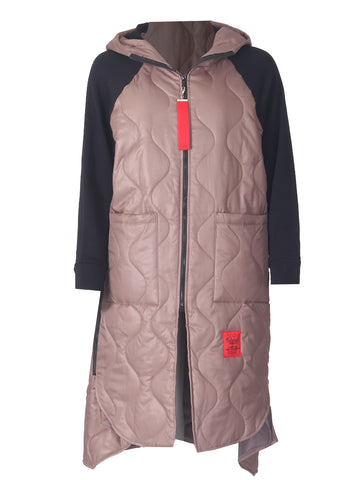 Red Label Coat - Champagne