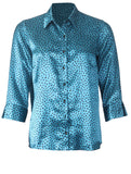 Slit Sleeve Shirt - Teal