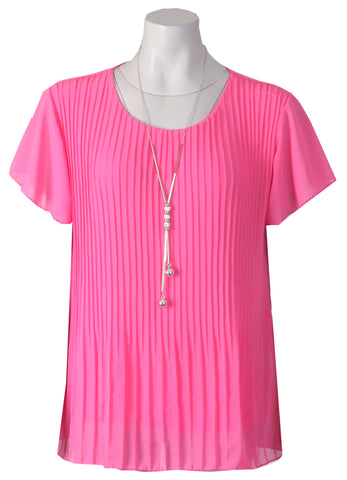1/2 Sleeve Blouse - Pale Pink