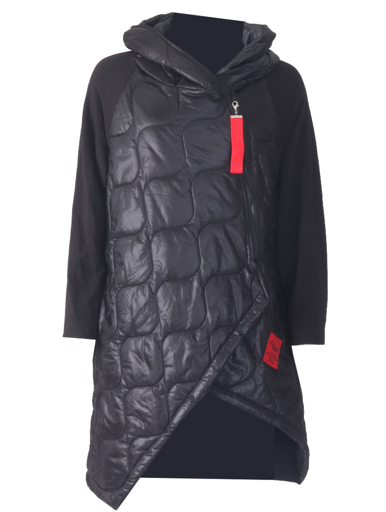 Padded Coat - Black