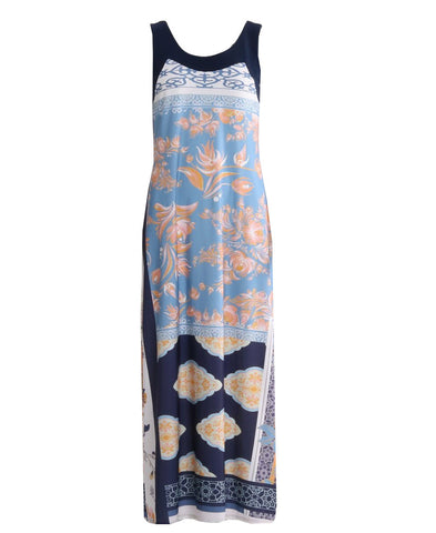 Lucia Maxi Dress - Navy/Blue