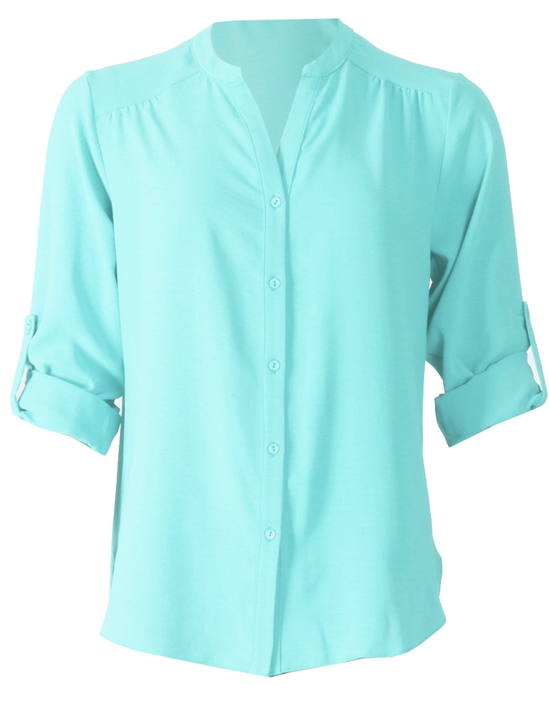 Molly Blouse - Turquoise