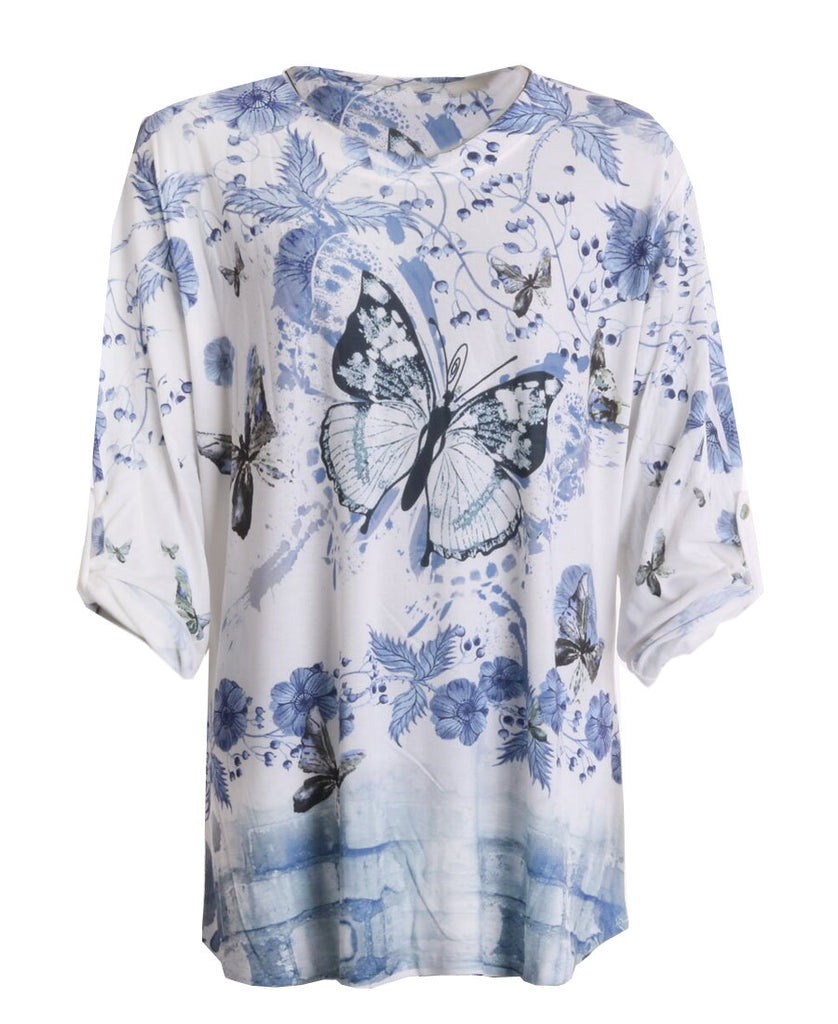 Butterfly Tunic - Denim