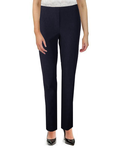 Elasticated Trousers - Navy/White