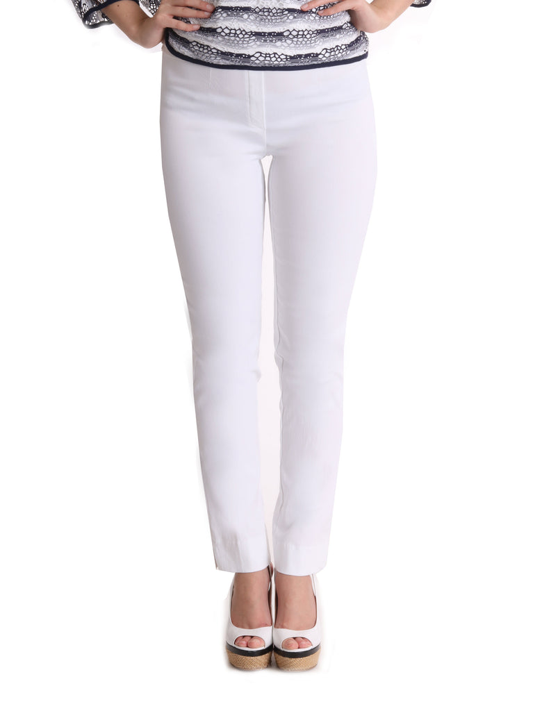 White Moda Trousers - Light Weight