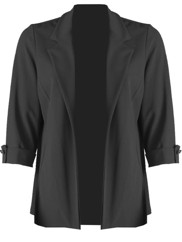 Edge to Edge Jacket - Black