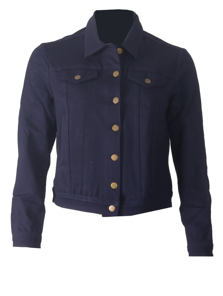Lilly Casual Jacket - Navy