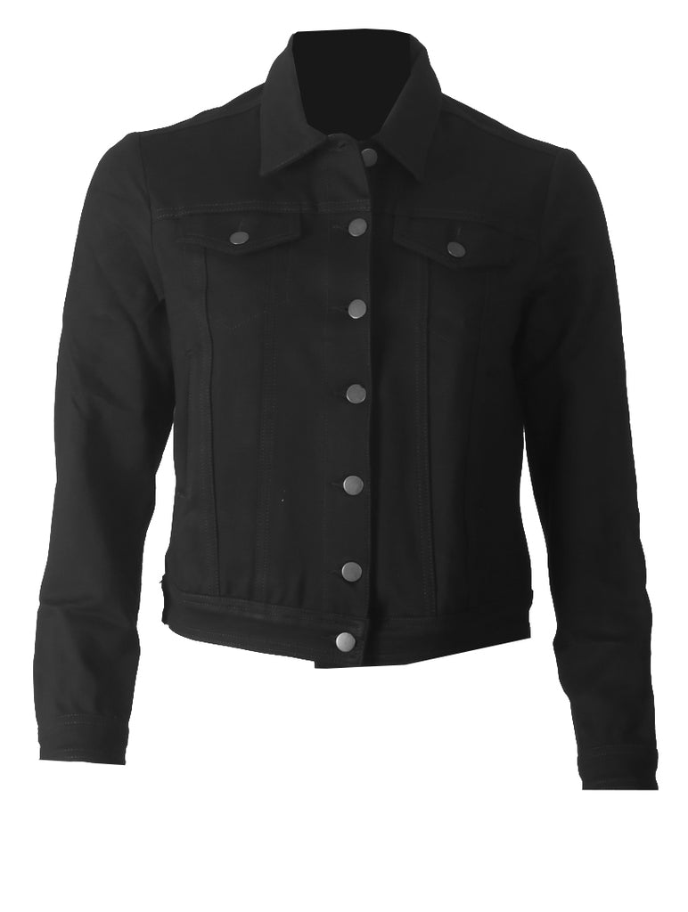 Lilly Casual Jacket - Black