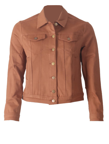 Lilly Casual Jacket - Camel