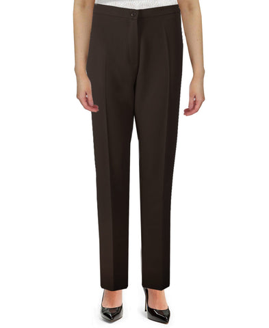 Dark Chocolate Side Elasticated Trousers