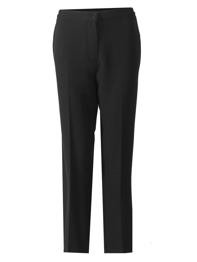 Short Side Elasticated Trousers - Black