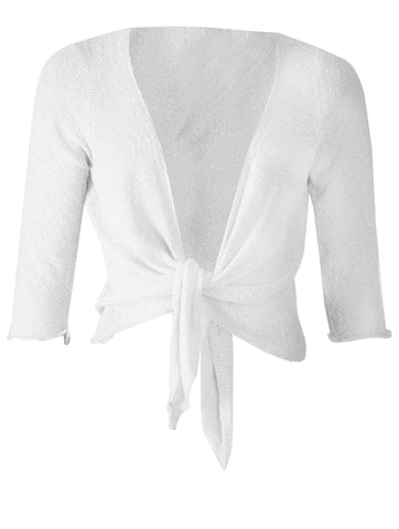 Cardigan - Optic White