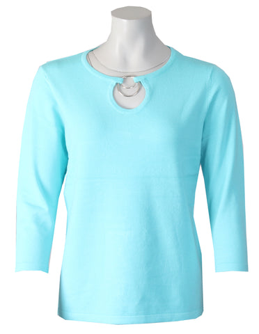Ring Knitwear - Turquoise