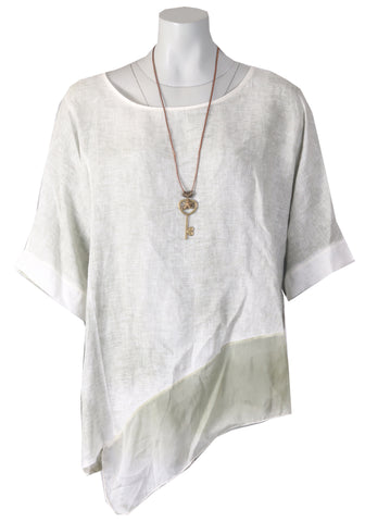 Asymmetric Top - Silver