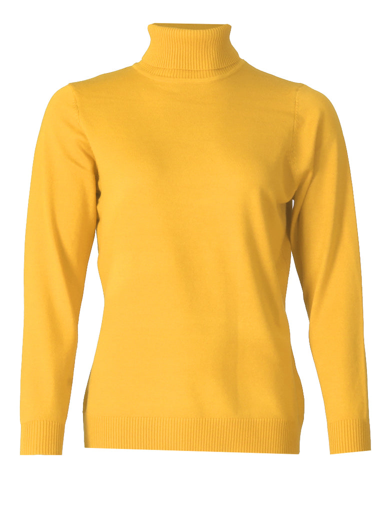 Polo neck - Gold