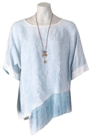Asymmetric Top - Denim