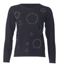Embellished Jumper - Black
