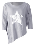 Star Jumper - Grey