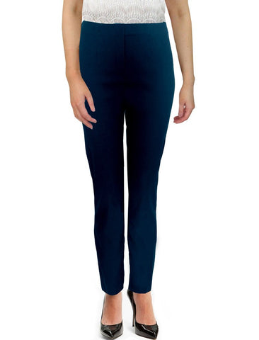 Navy Moda Trousers - Light Weight