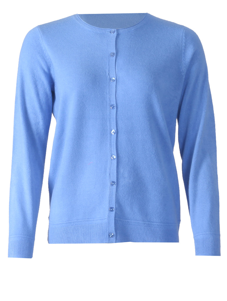 Cardigan - Electric Blue