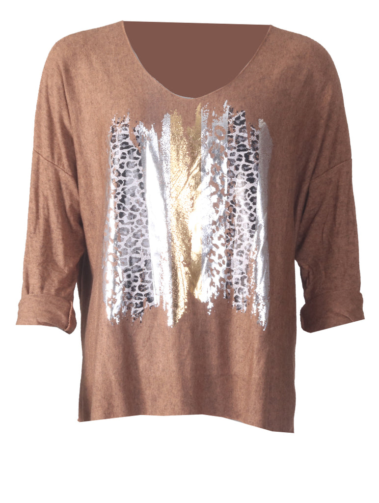 Beautiful Top - Camel