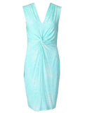 S/Less Dress - Turquoise