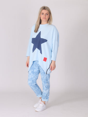 Star Top - Blue