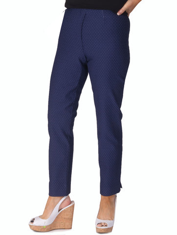 "27"" Speckle Trousers - Navy"