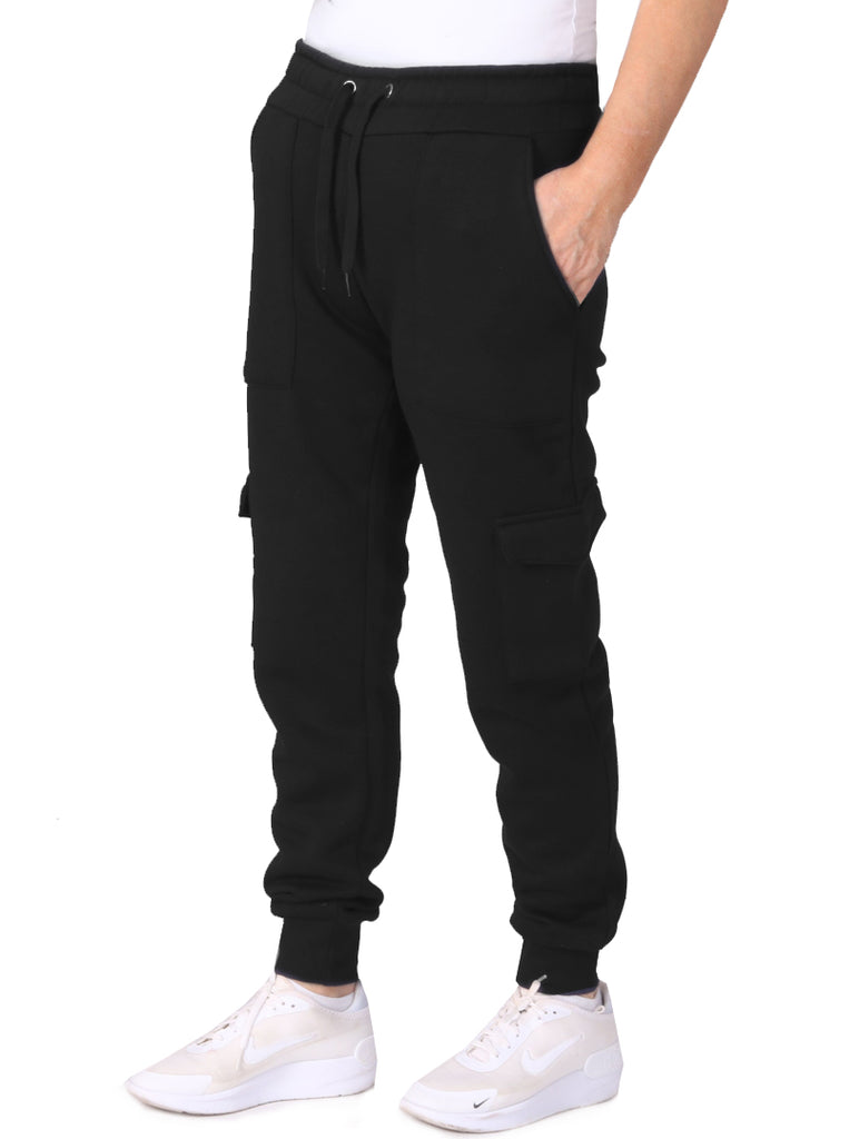Cargo Jogging Trousers - Black