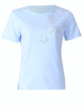 Star Stones T-shirt - Light Blue